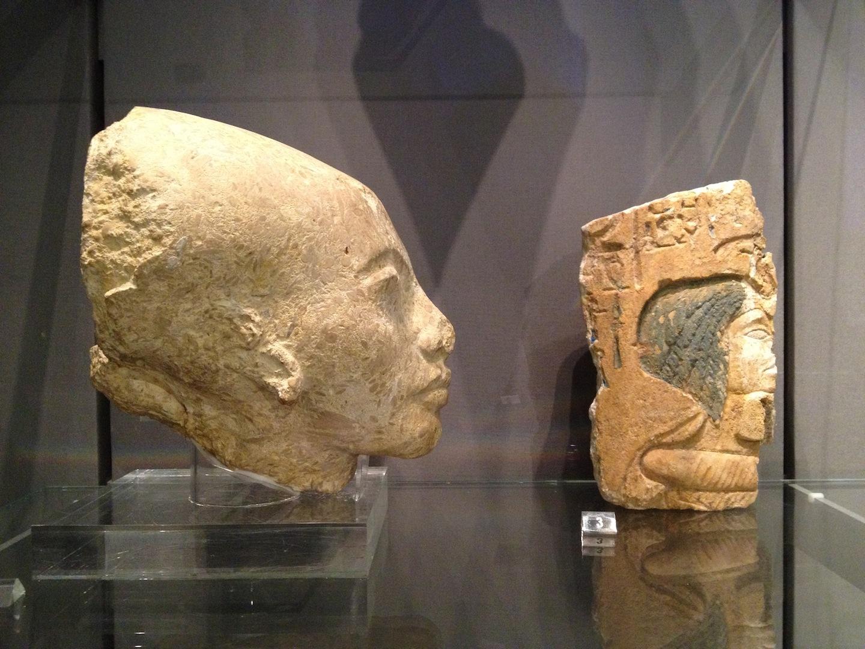 Nefertiti in profile? Amarna 14th century BC Fitzwilliam Museum