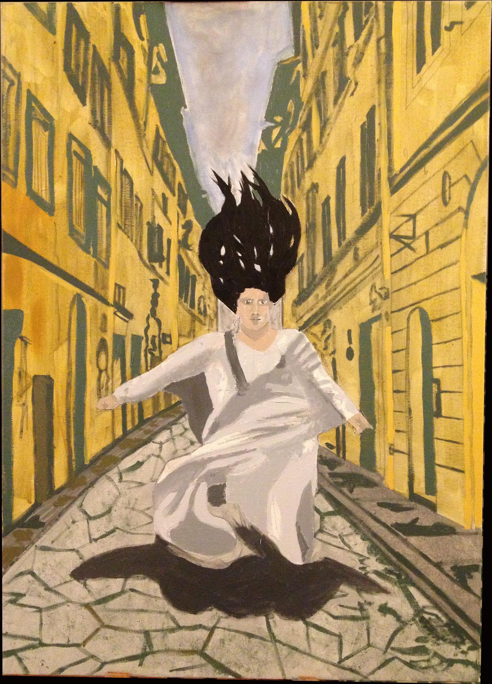 Jesse Waugh 5=6 December 31, 2012 Oil on canvas