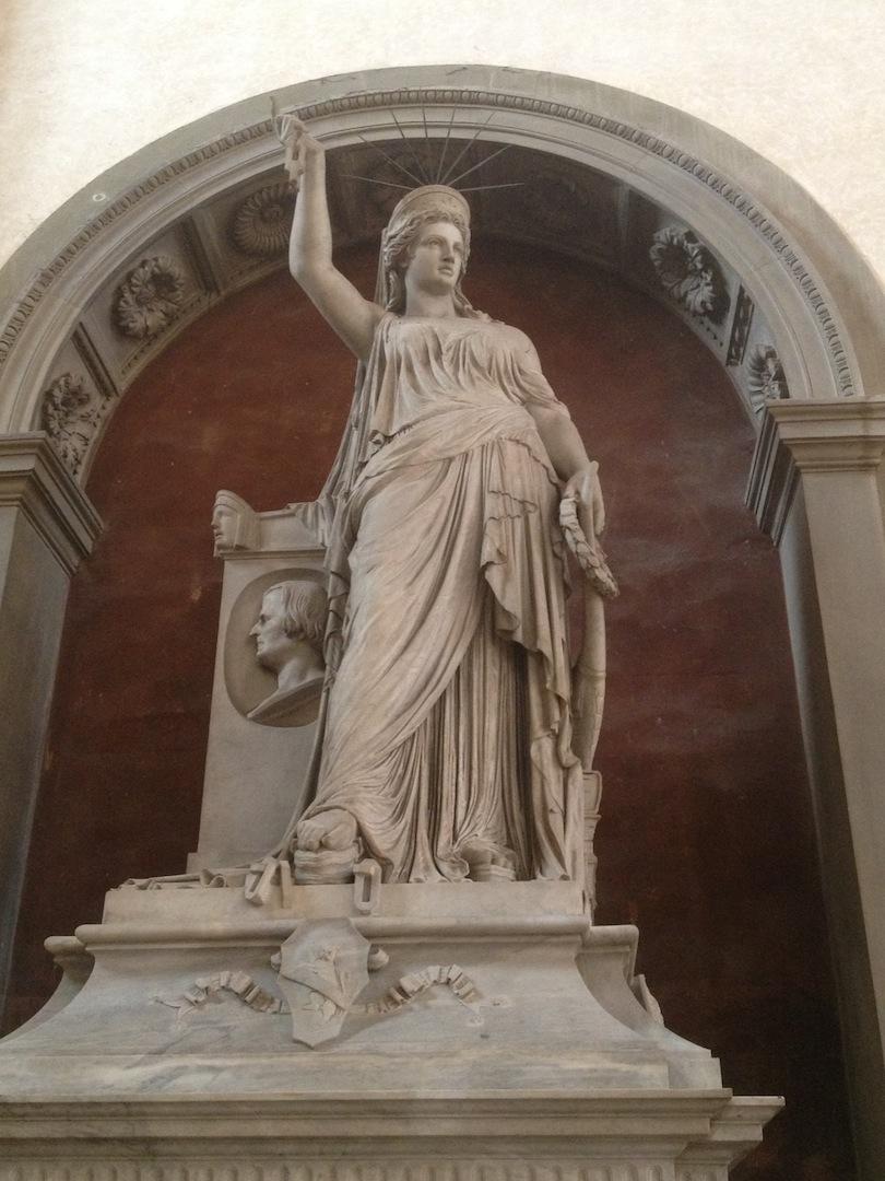 Pio Fedi Liberty of Poetry Santa Croce, Florence Marble