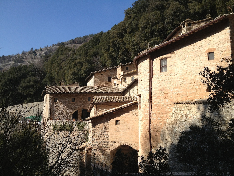Hermitage of Saint     Francis     Eremo delle Carceri   Assisi, Italy