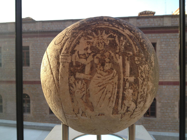 Magic Sphere  Acropolis Museum Athens 2-3 century AD