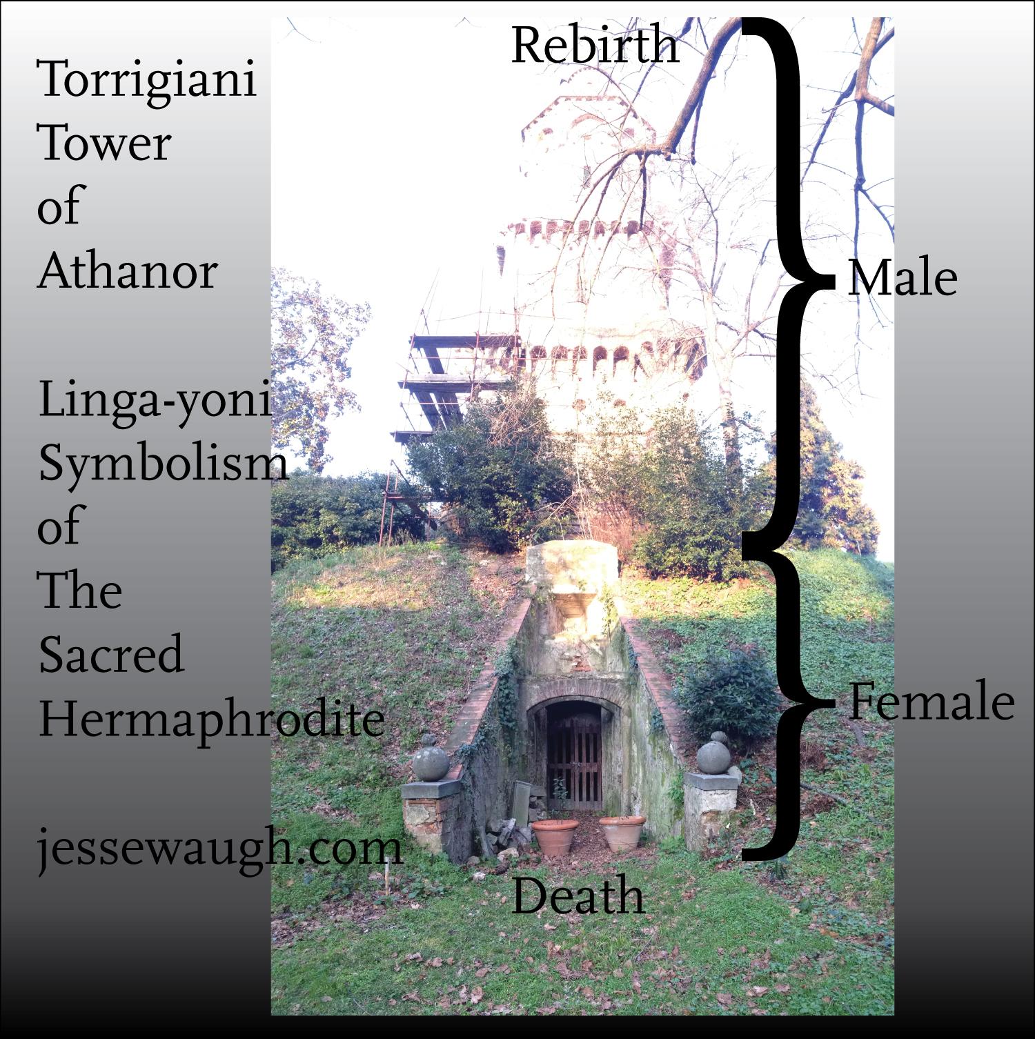 Tower of Athanor Linga-yoni / Sacred Hermaphrodite