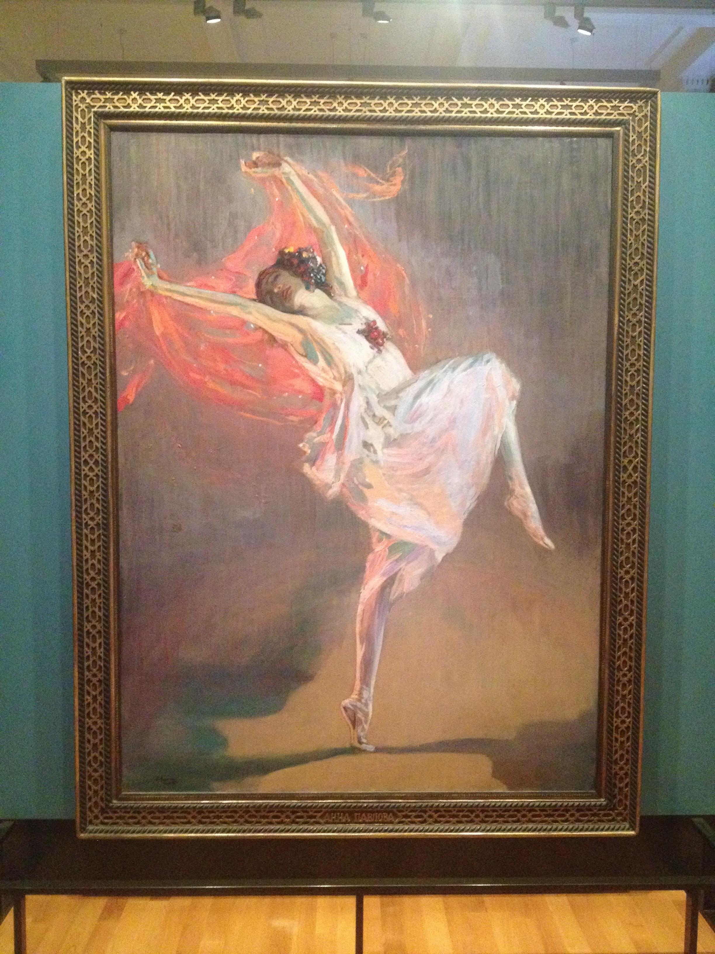 Fig. 4 J  ohn Lavery     Anna Pavlova   1910 Oil on canvas
