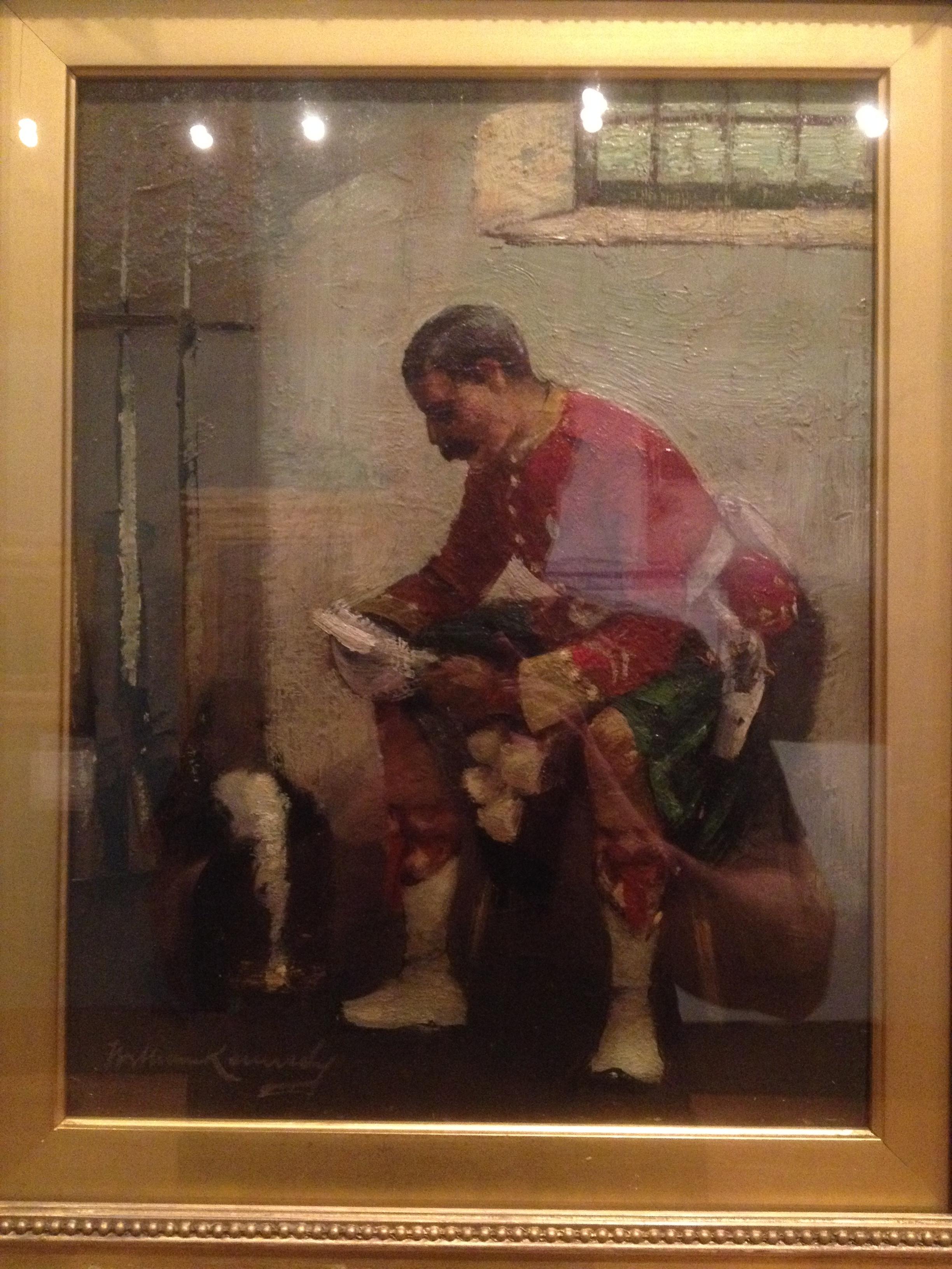 Fig. 1 William Kennedy   The Highlander   c 1982 Oil on canvas