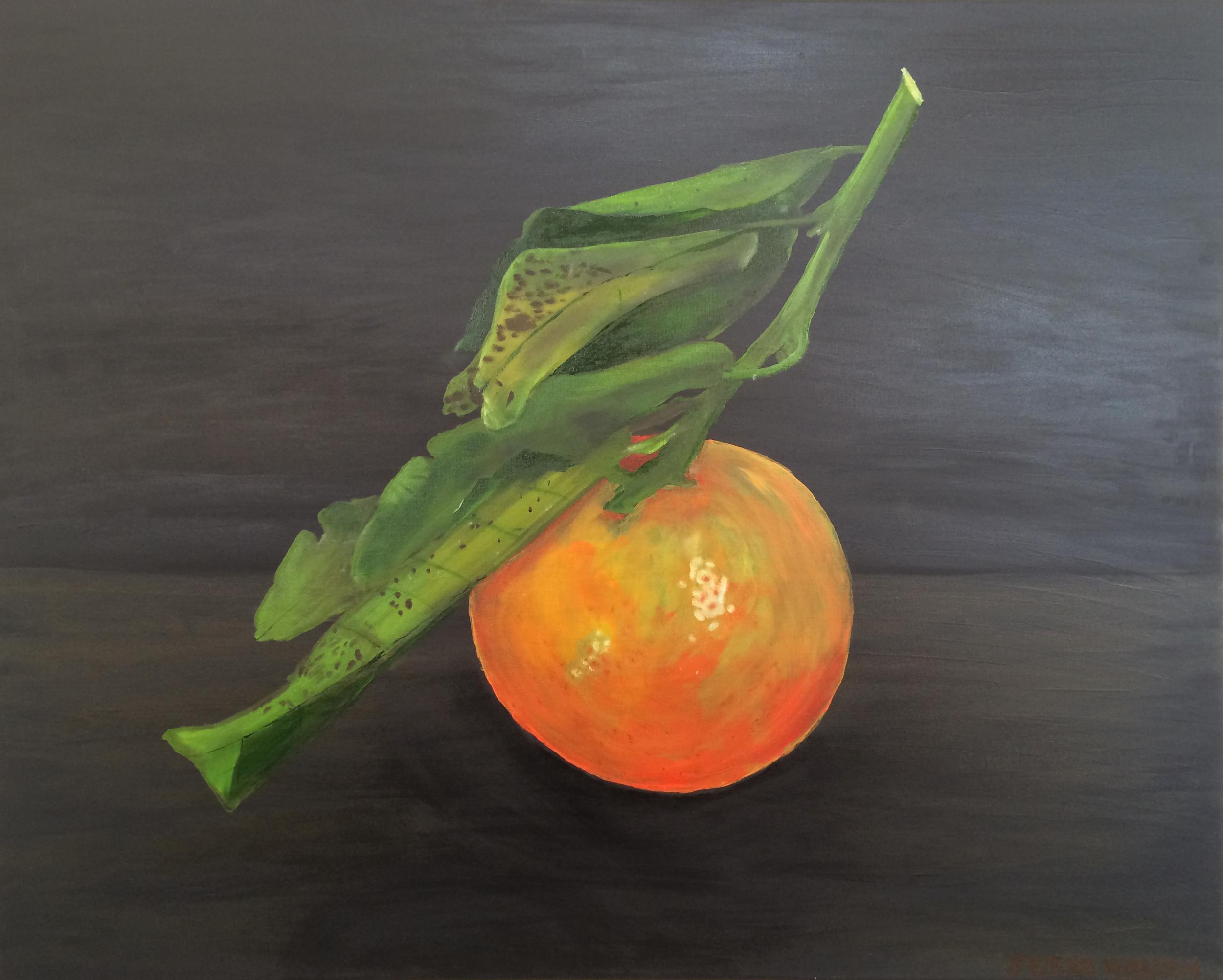 Jesse Waugh   Nadorcott Mandarin   2014 Oil on canvas