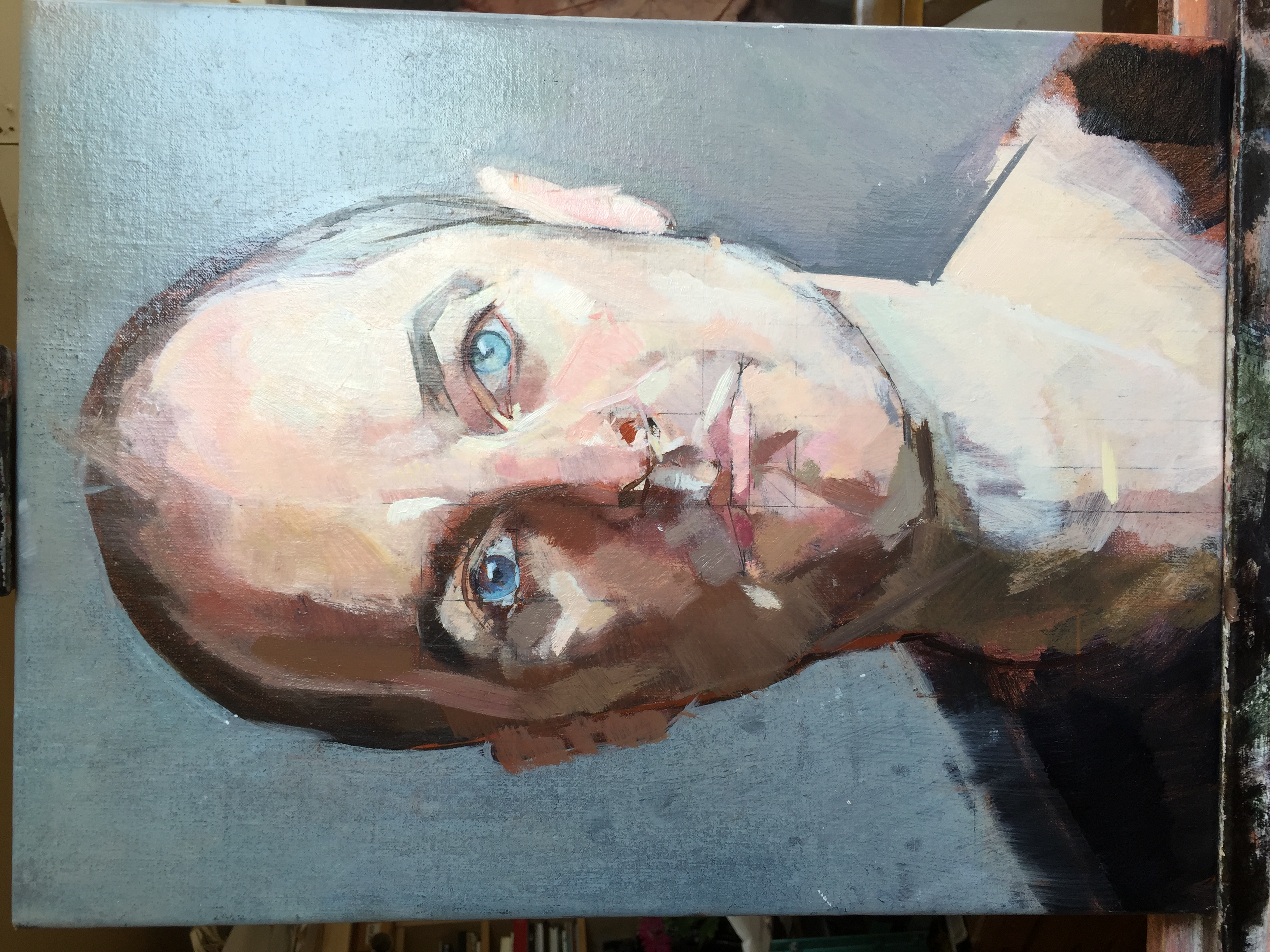 Allan Ramsay   Portrait of Jesse Waugh (Unfinished) by Allan Ramsay   2015 Oil on canvas