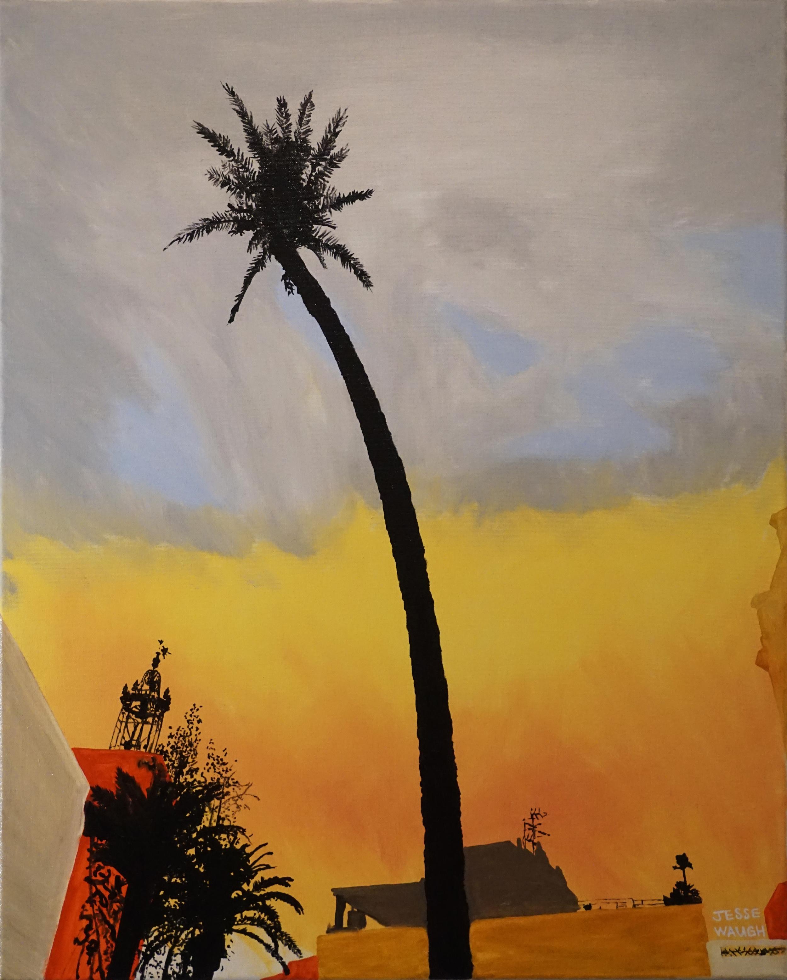 Jesse Waugh   Maricel Palm   2015 Oil on canvas