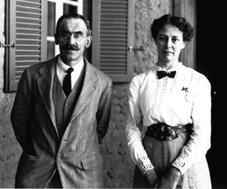 Norman de Garis Davies with wife