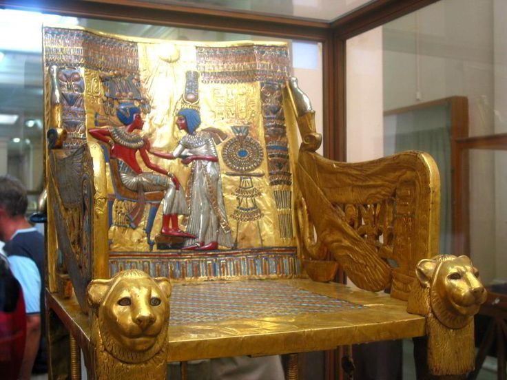 Throne of King Tutankhamun