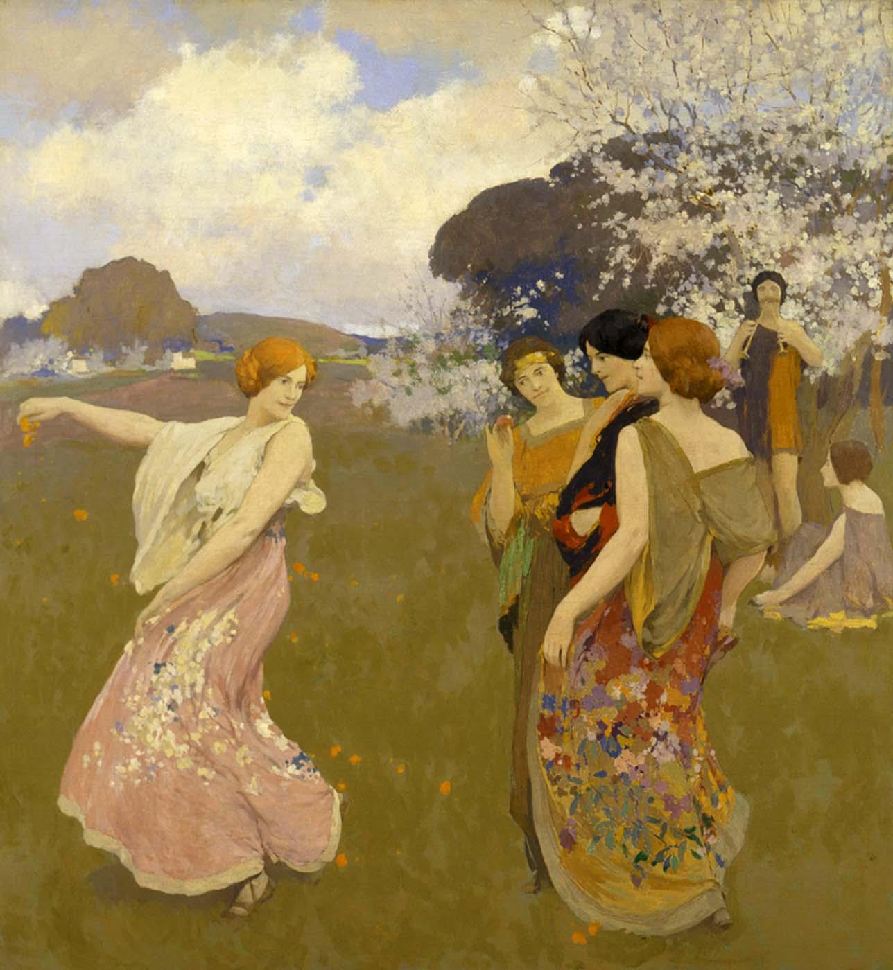 ARTHUR MATHEWS   SPRING DANCE