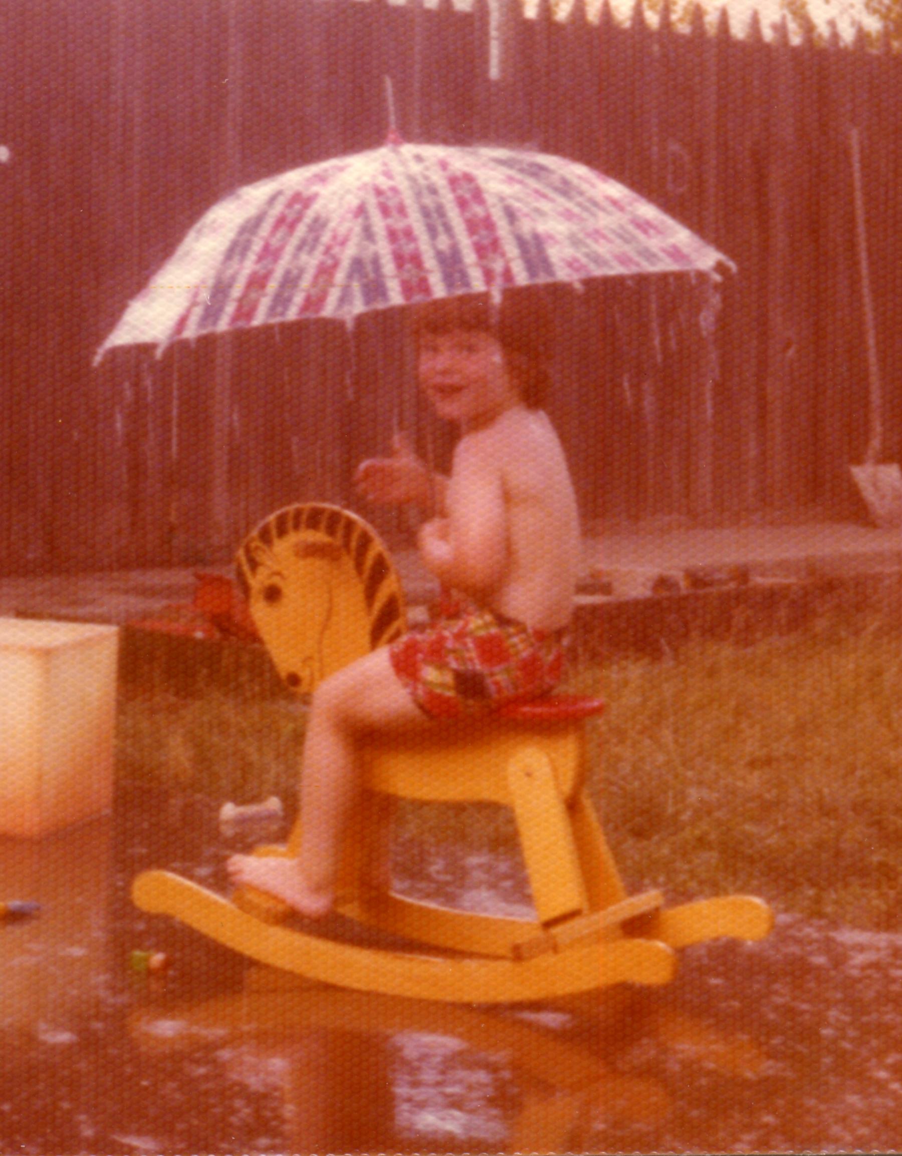 Jesse Waugh at Elm Street in Richmond, California in 1978