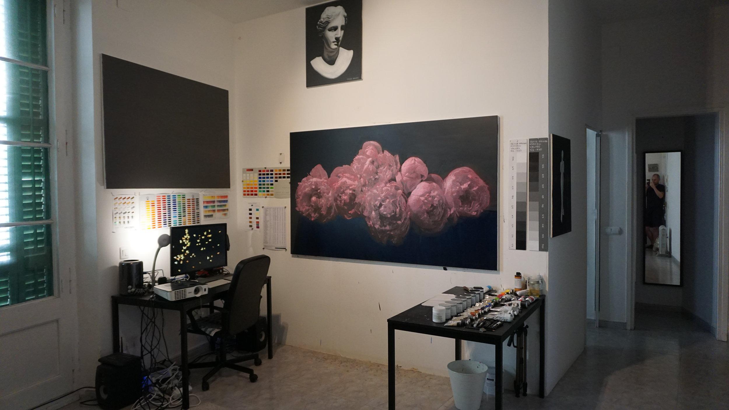 JESSE WAUGH STUDIO BARCELONA