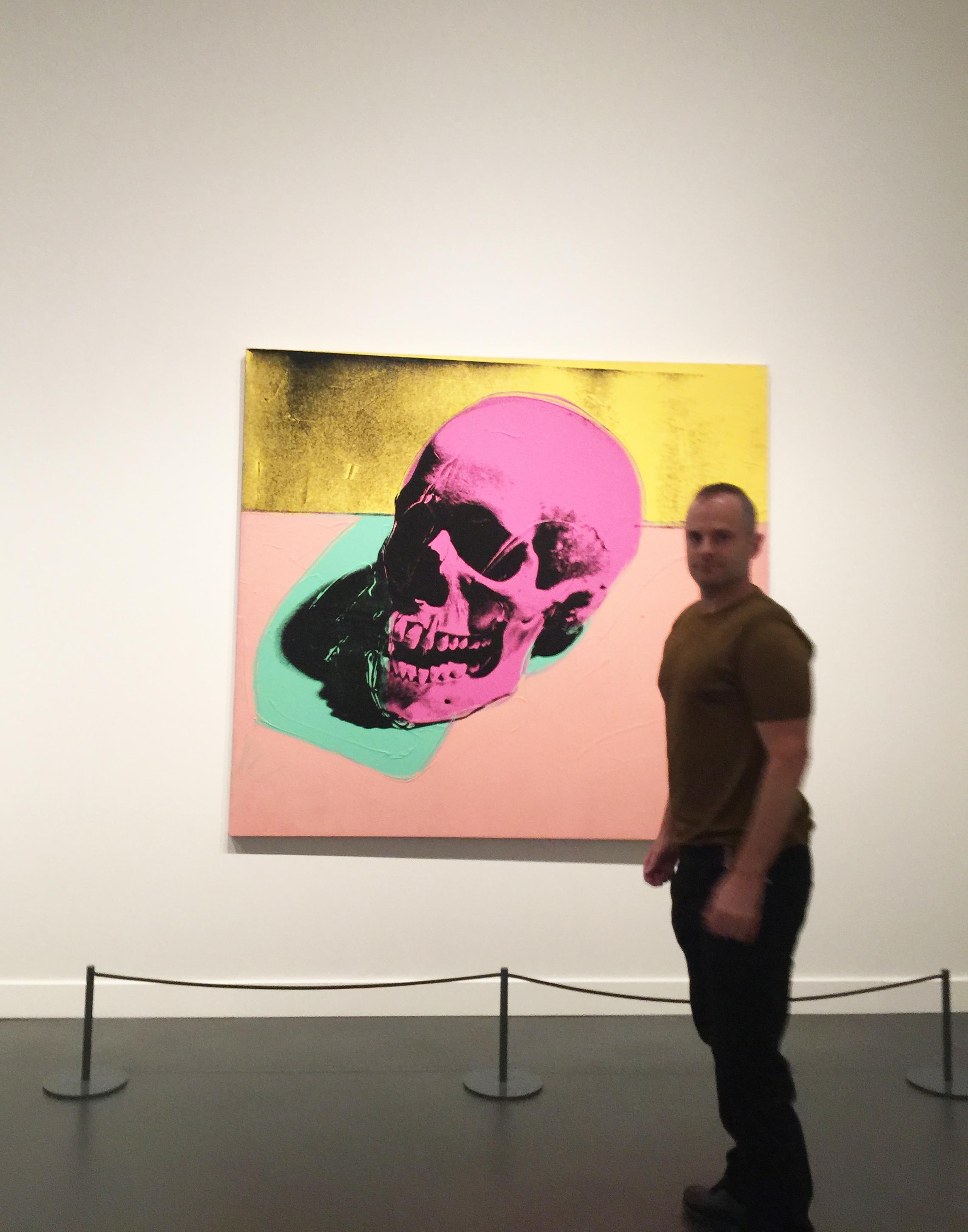 JESSE WAUGH - Warhol skull