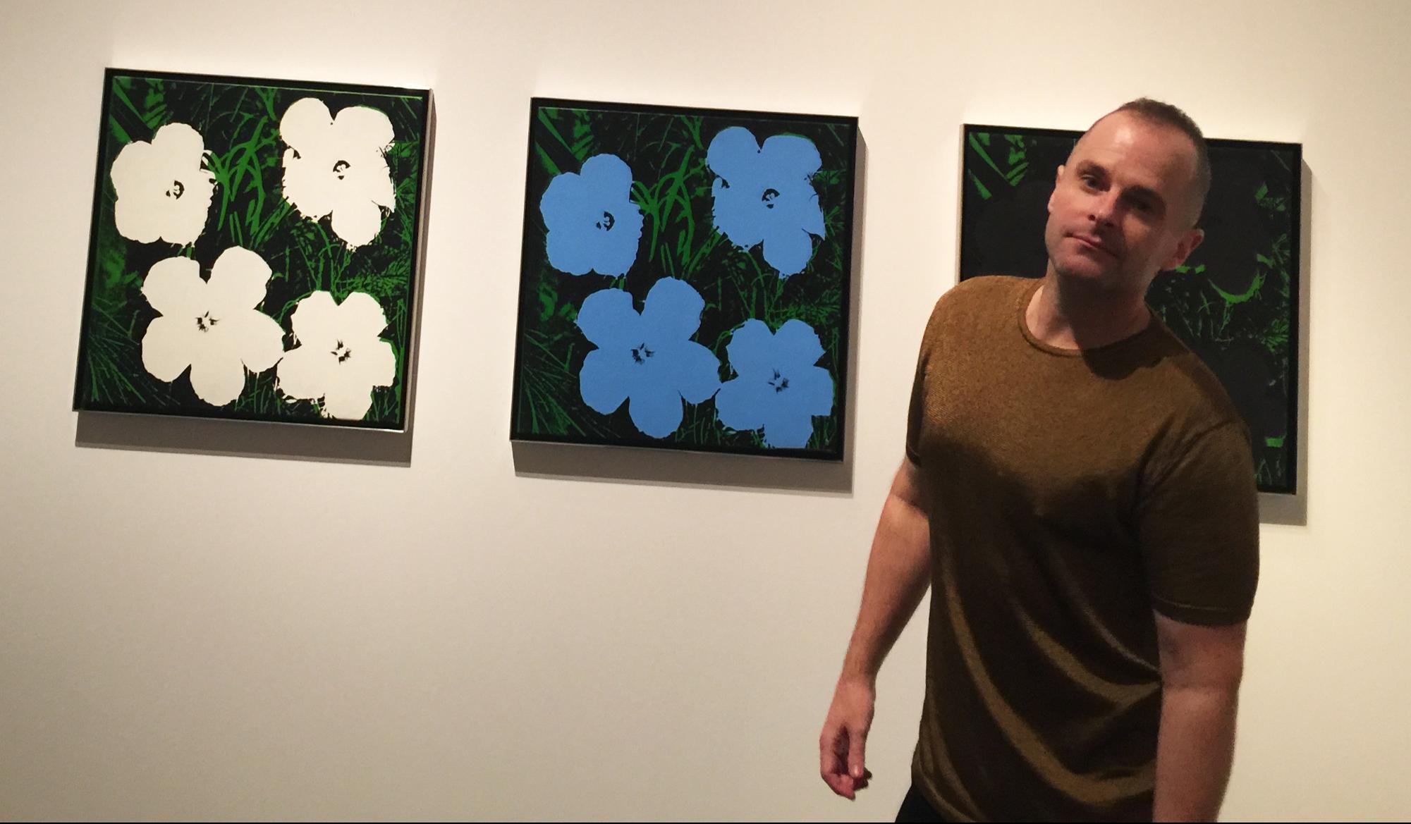 JESSE WAUGH - Warhol flowers