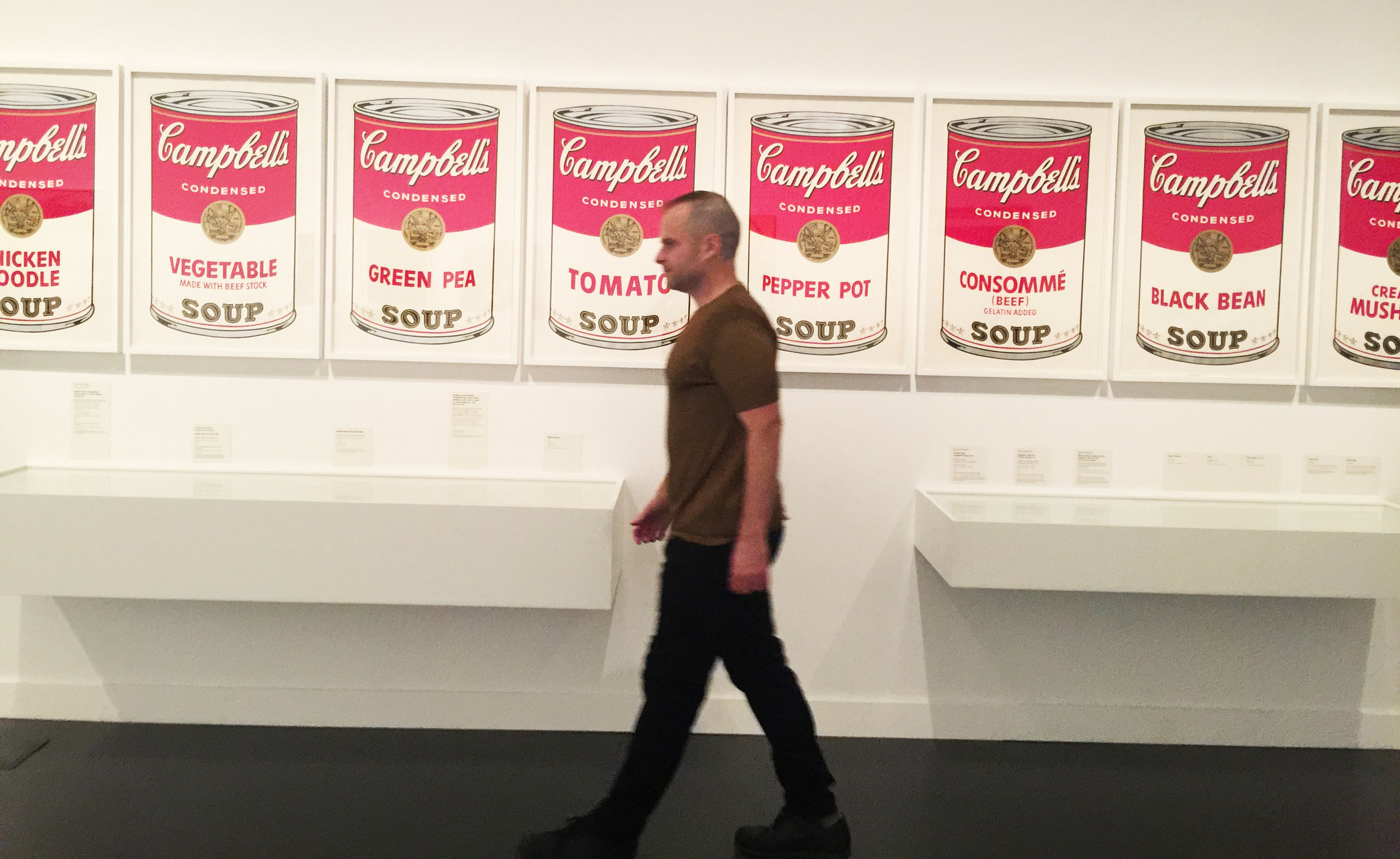 JESSE WAUGH - ANDY WARHOL - Campbell's Soup Cans