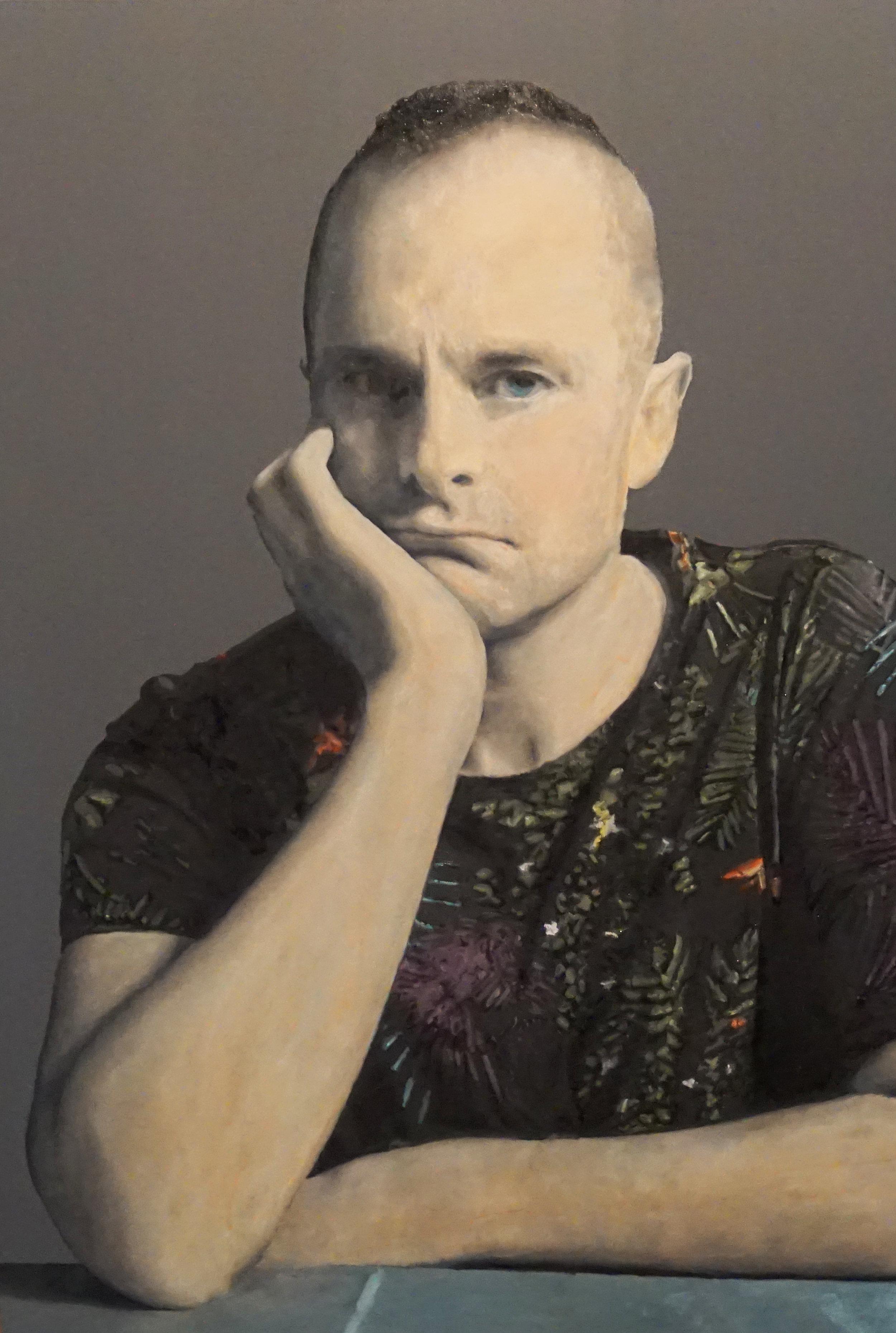 Self-portrait of Jesse Waugh   Melancholia