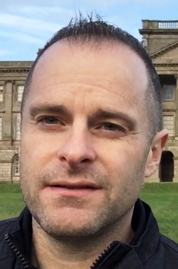 Jesse Waugh at Lyme Park in Cheshire. England