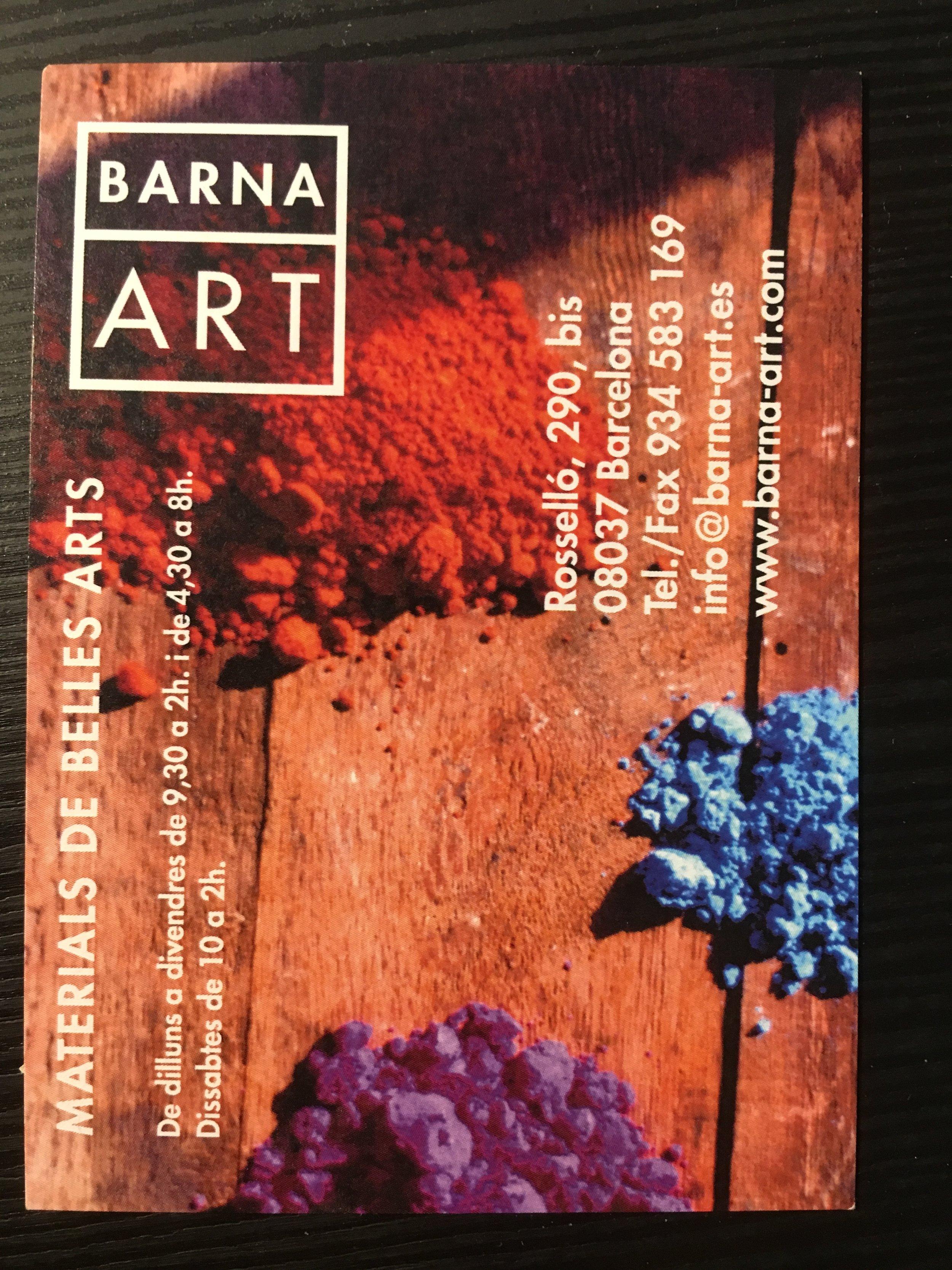 Barna Art, Barcelona canvas sizes