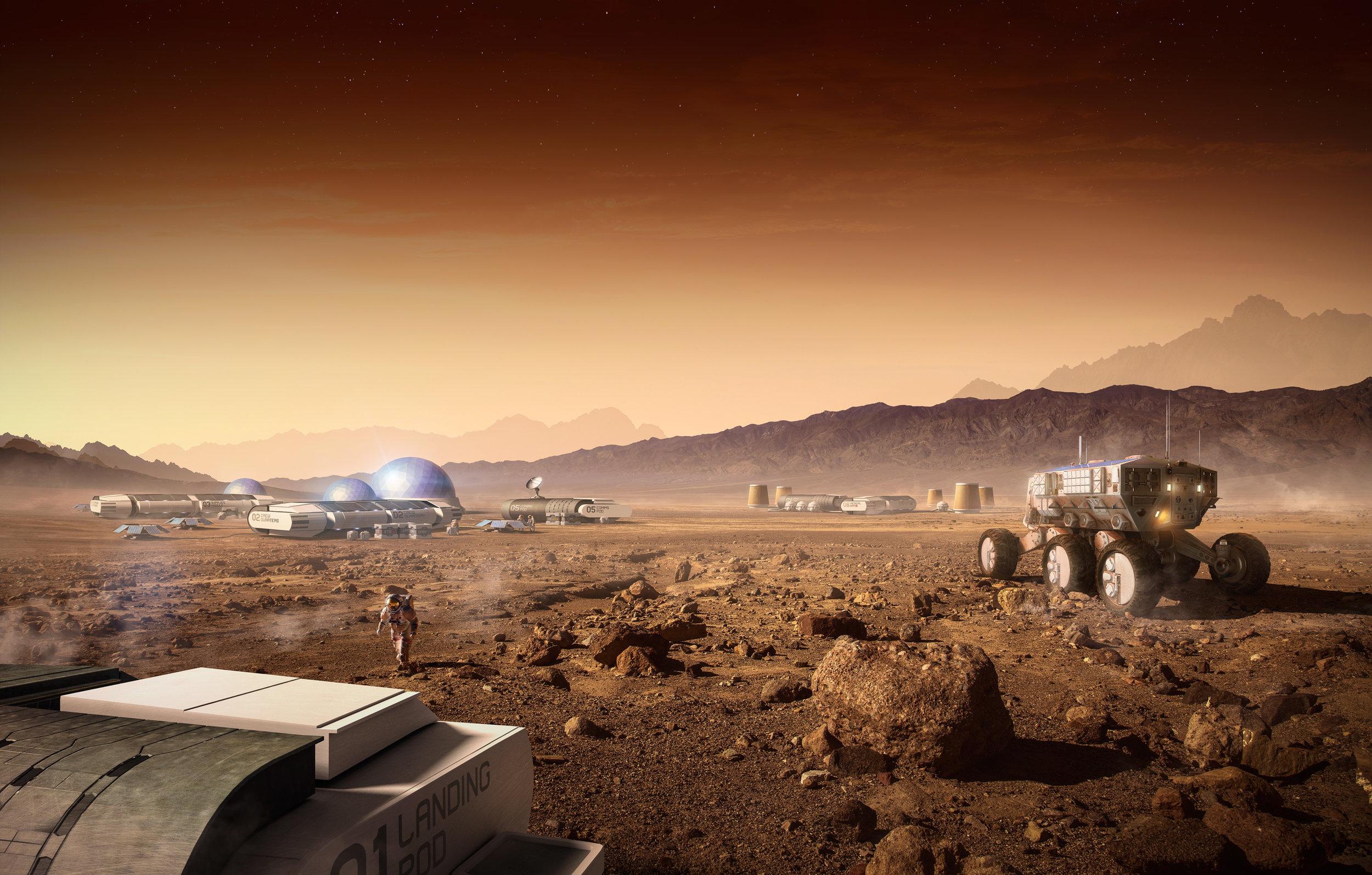 Mars, a New Earth