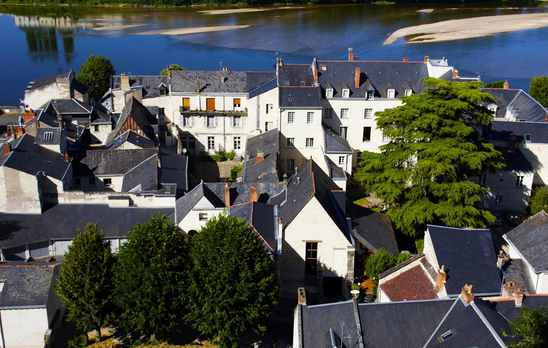 Saumur roof tops