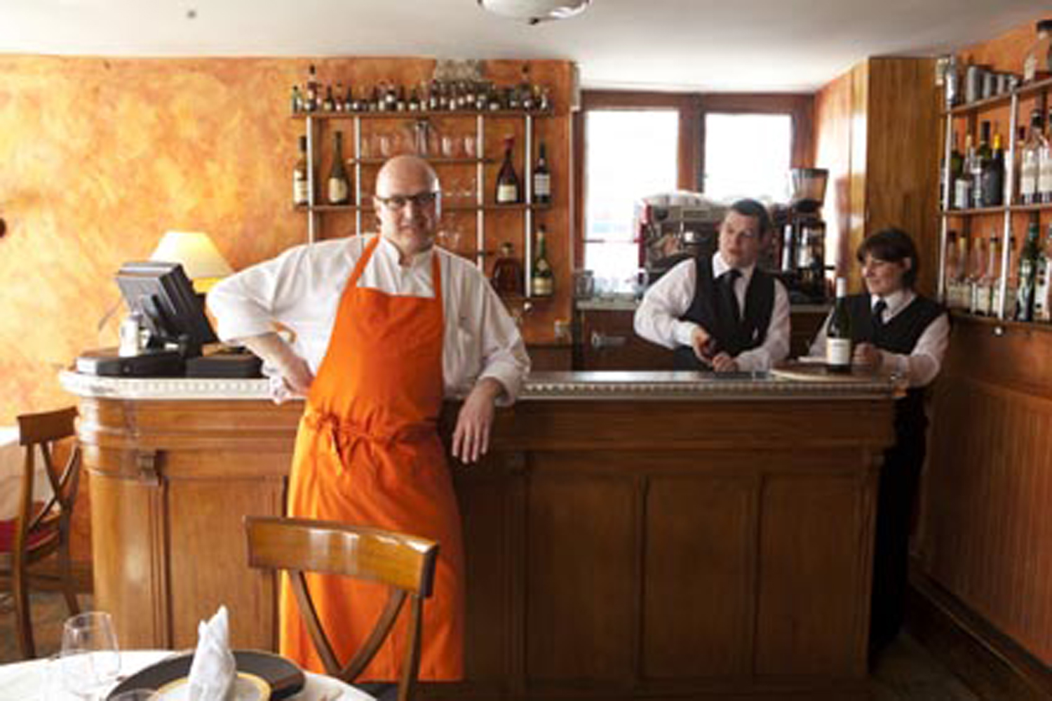 I borrowed this photo from  Gilles   Pudlowski , who wrote his own blog post about the restaurant