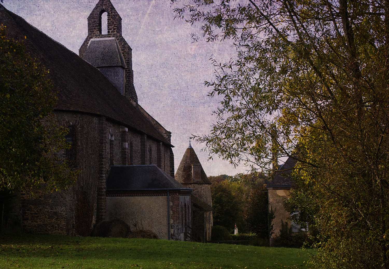 The church yard