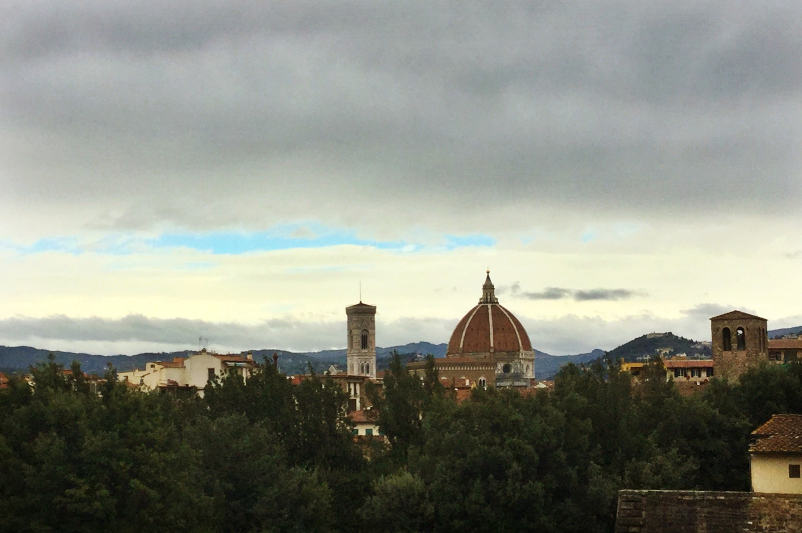 View of the Duomo from the Boboli Gardens