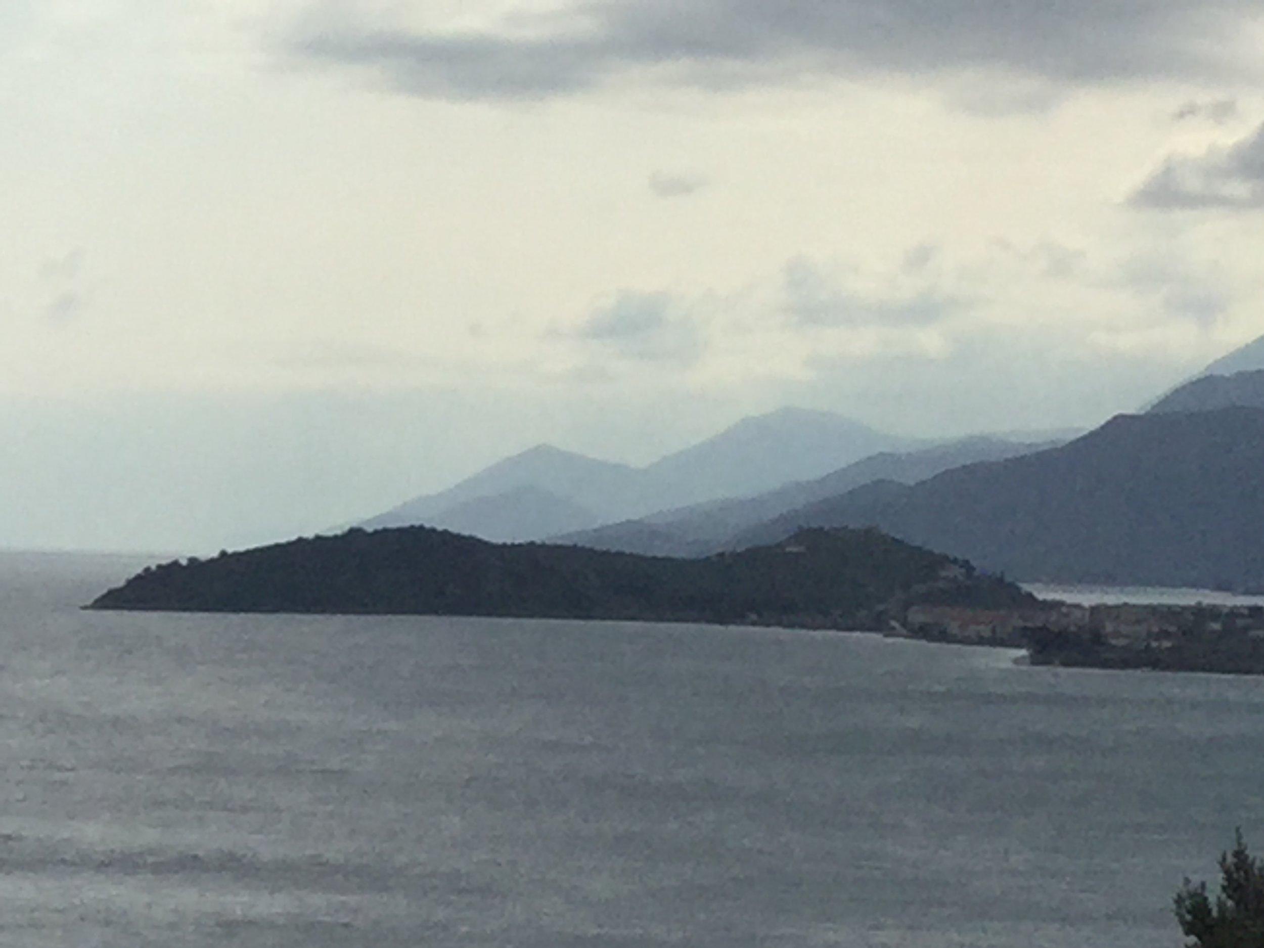 The evocative coastline of the Bay of Argolic