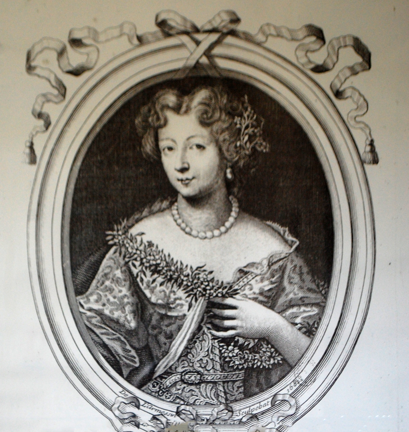 The princess Conti, who built our house