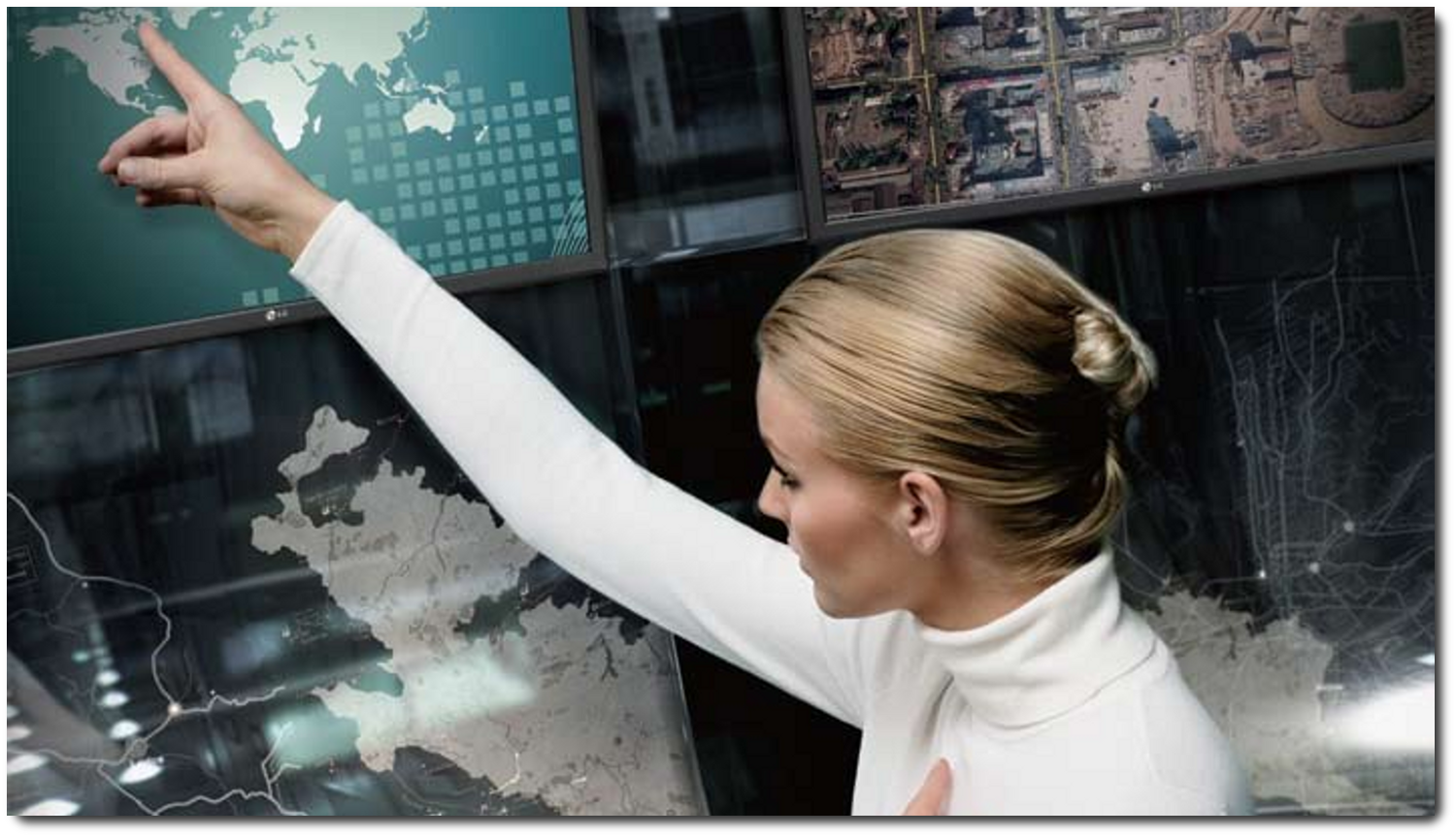 Large Format Touch Screens   Revolutionize the way you interact with the public to communicate your message.
