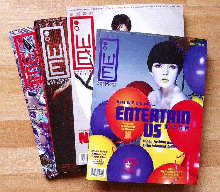 WestEast Magazine - Hongkong, 2006,in collaboration with Sirkka Hammer
