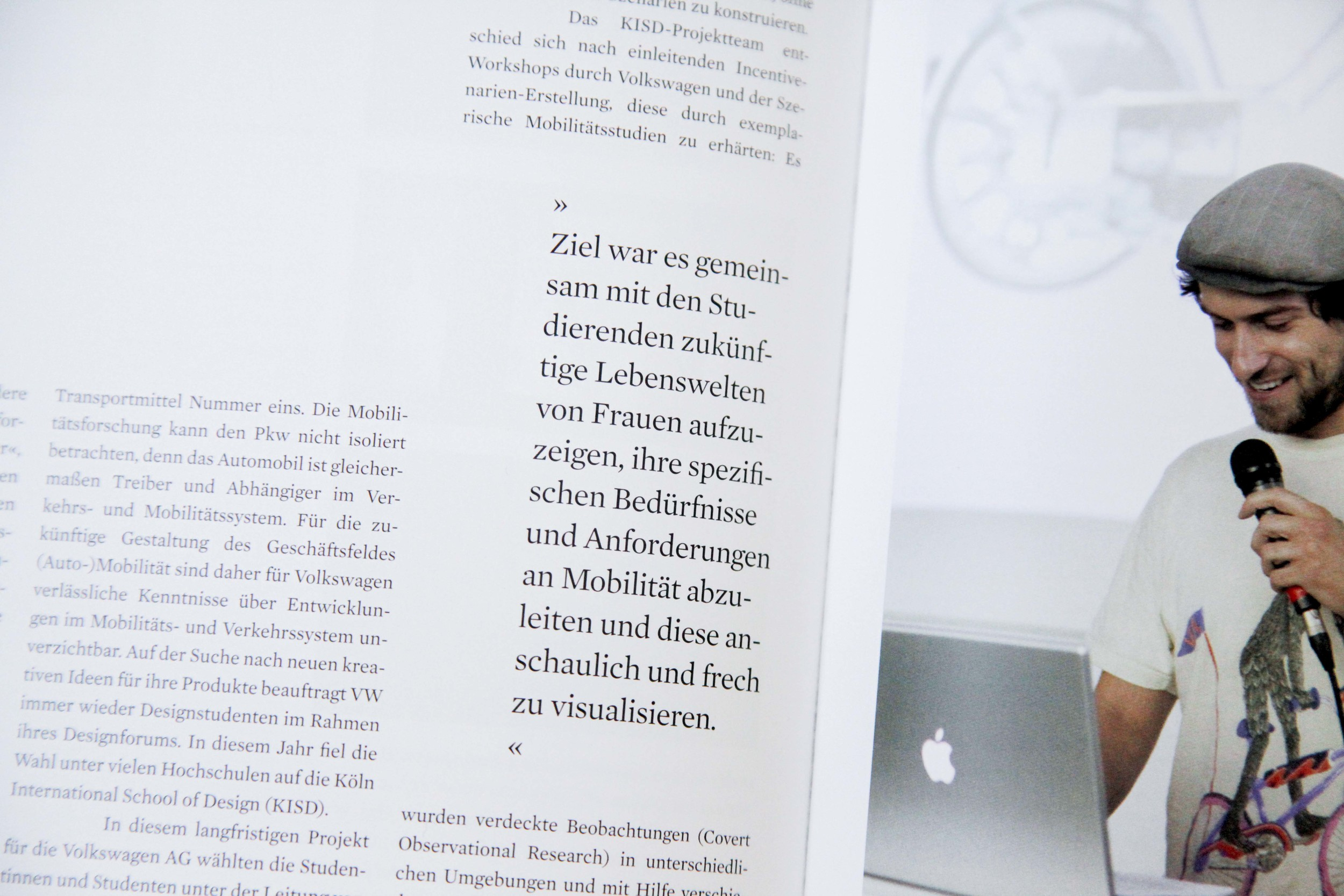 Artikel im Jahrbuch der Köln International School of Design 2009