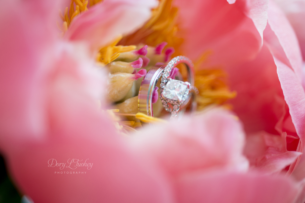 I'm not usually one to take a ring shot in the flowers, but these flowers were SO amazing, I had to.
