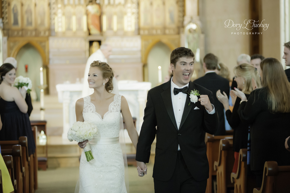 Exit photos are my fav for the ceremony. Everyone is so happy! And Fritz gave us a fist pump!