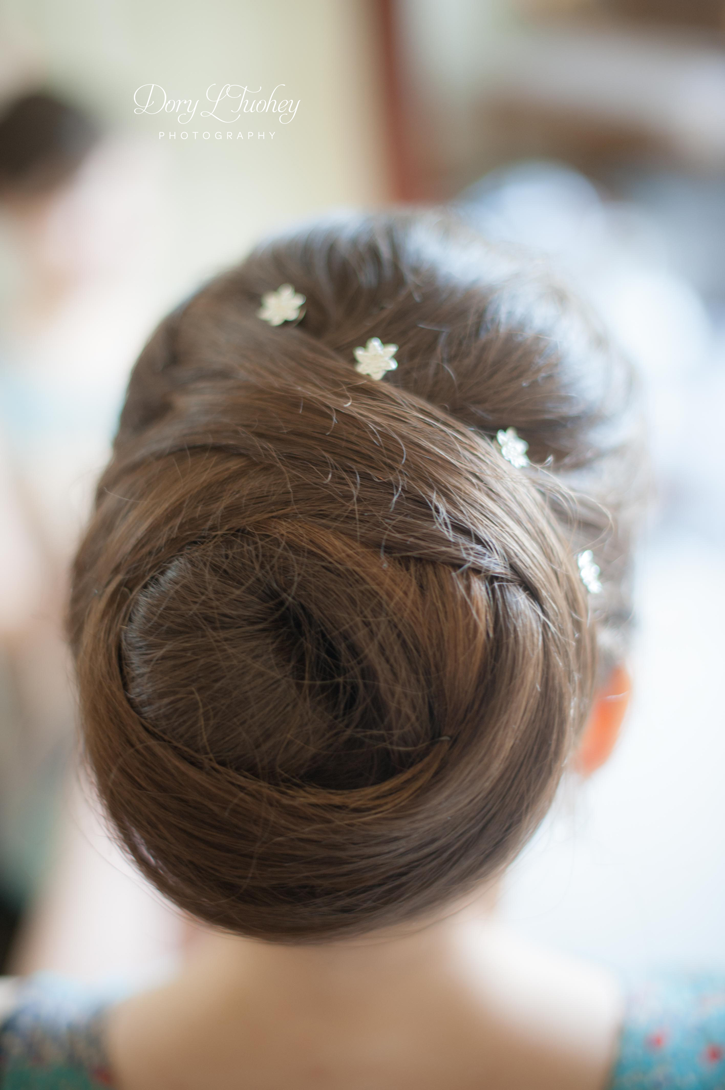 This updo is to die for.