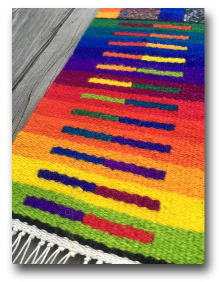 Color wheel sample for a Color Gradation workshop