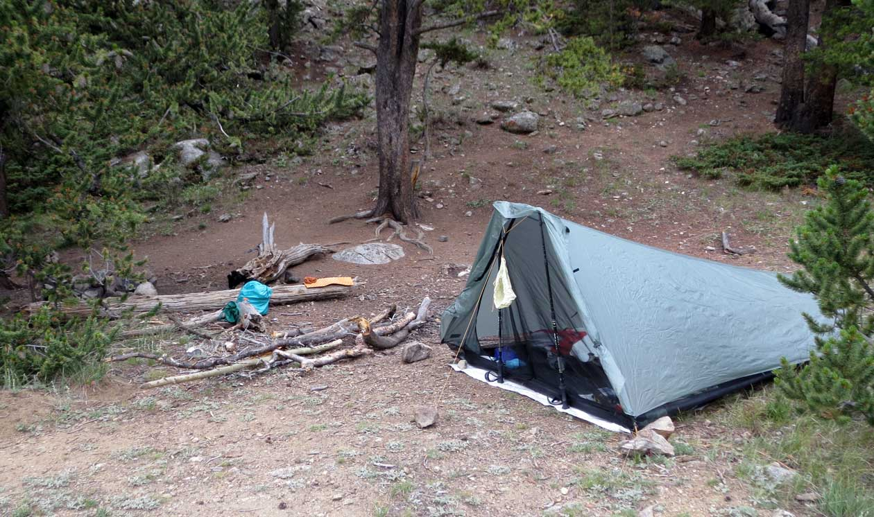 Bristlecone camp.
