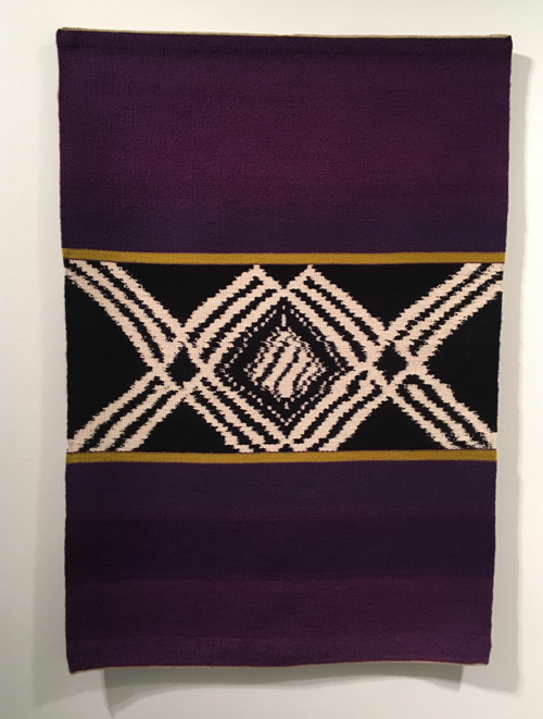 Mary Zicafoose, Broken Code, tapestry