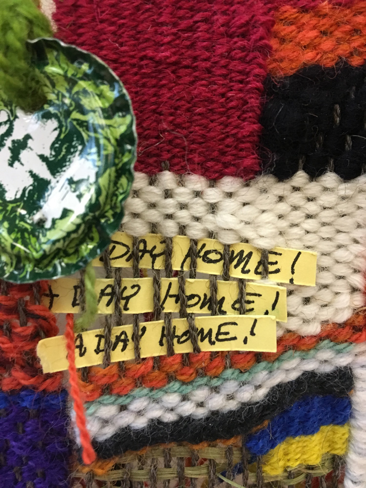Tapestry diary: Students had to put a strip of paper in when they were gone for a day.