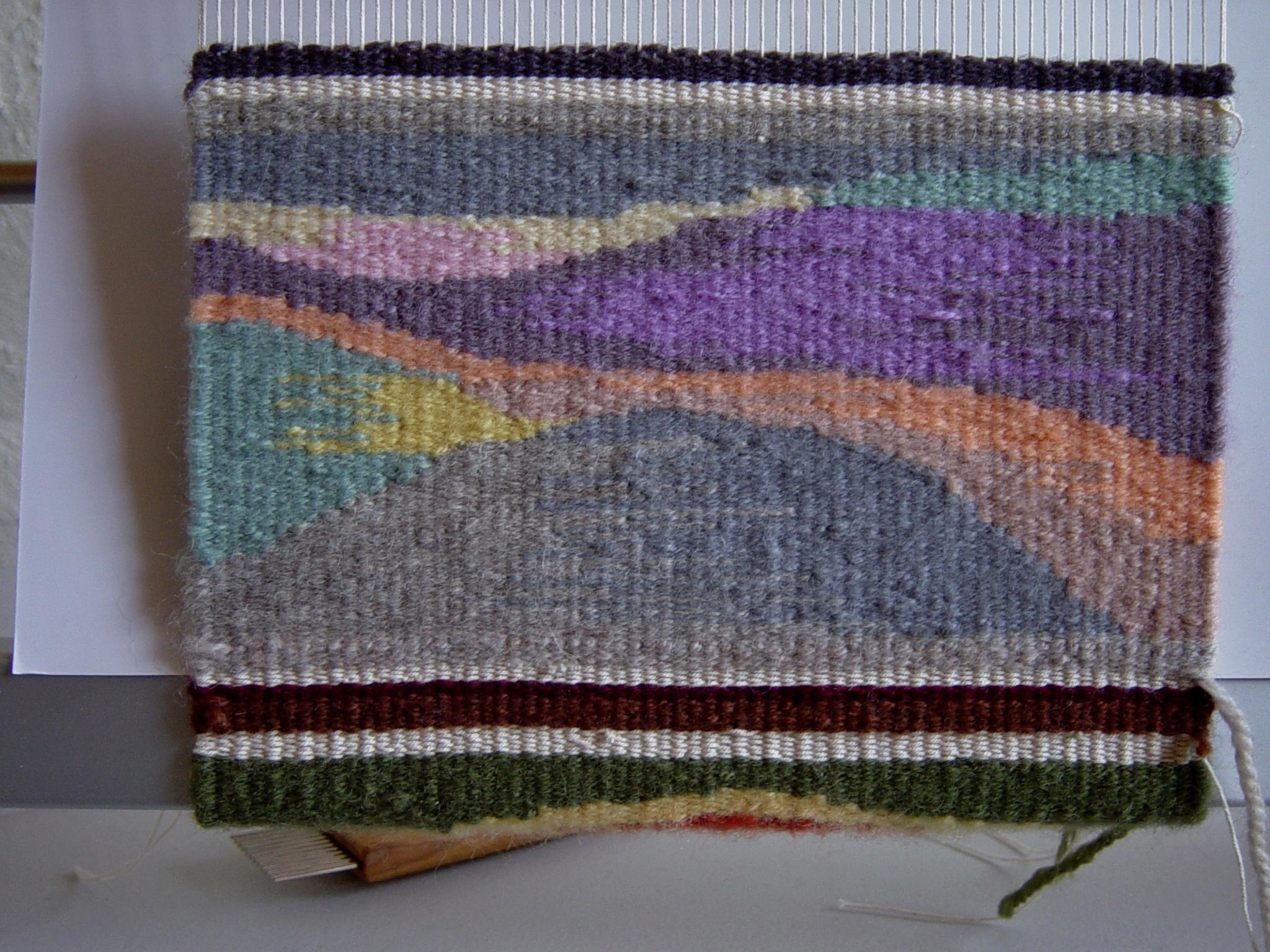 Learning beginning tapestry weaving — Rebecca Mezoff