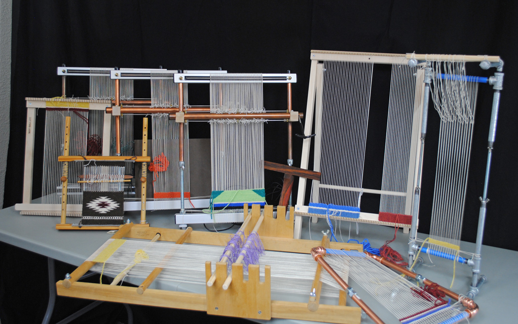 Some of the loom I usually bring to the Tapestry Answers class.