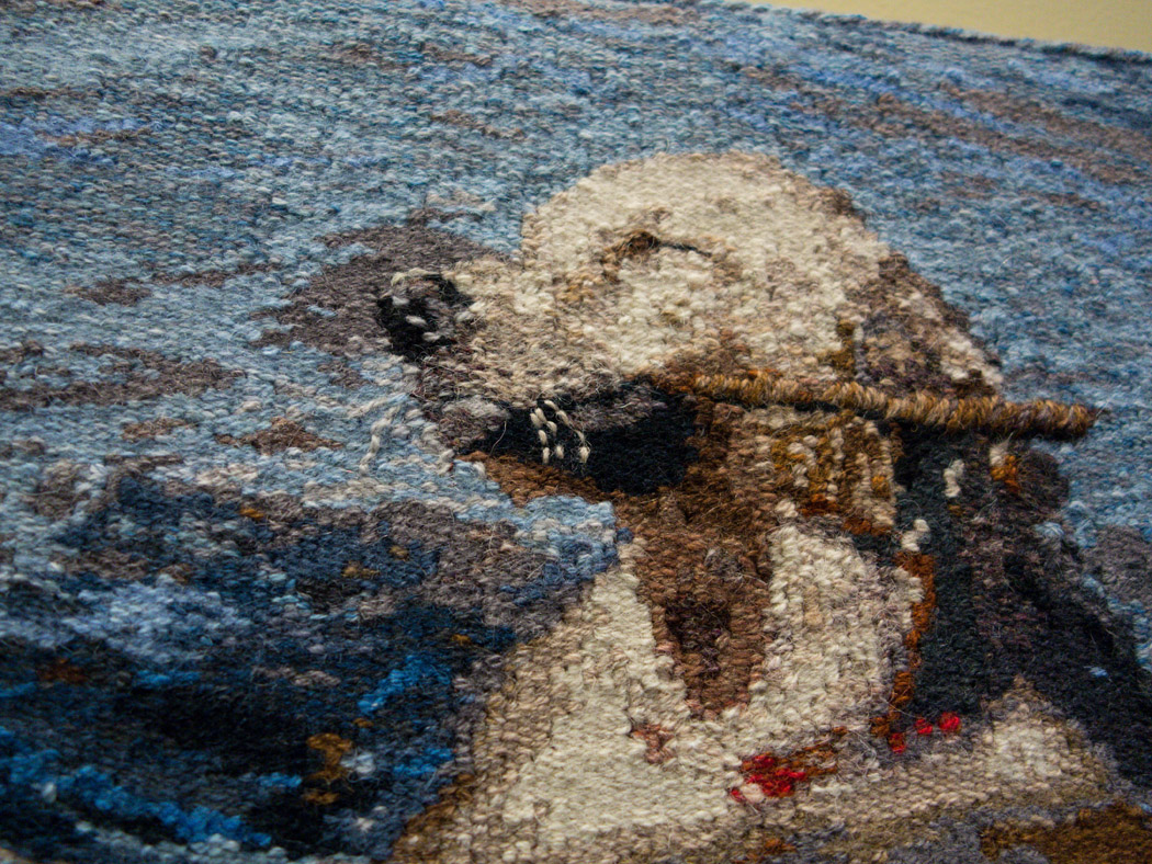 Kathy Spoering,  The Dog Days of Summer,  detail