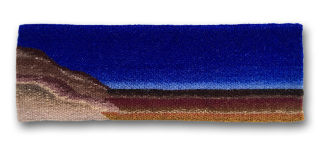 Rebecca Mezoff,  Layers,  11.5 x 4 inches, tapestry