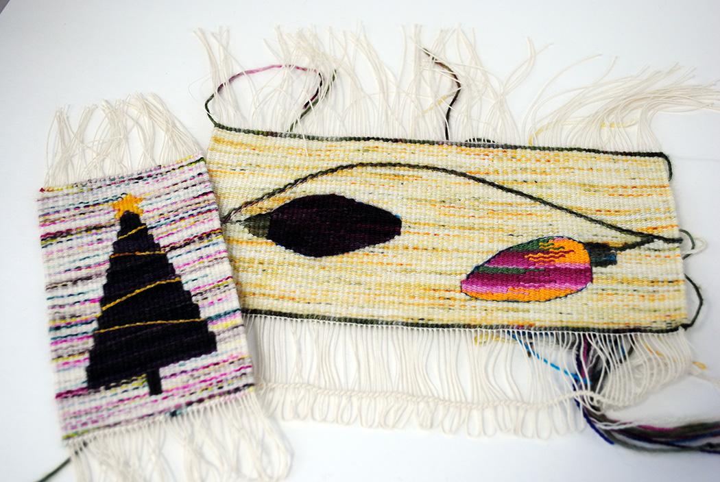 Rebecca Mezoff, experimental tapestry weaving with sock yarn