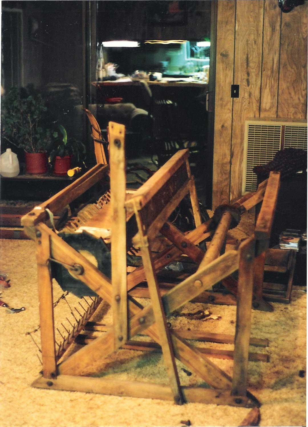 My very first loom: Union Loom — Rebecca Mezoff