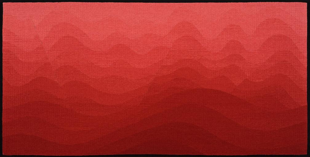 James Koehler,  Rhythms of Nature III,  tapestry