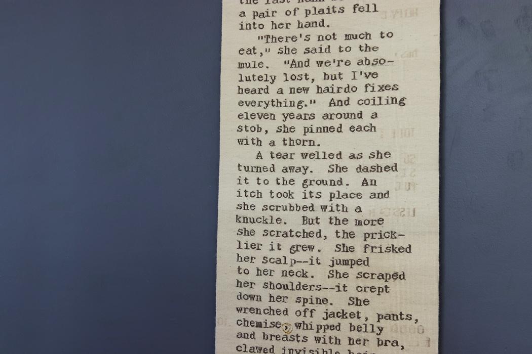 Rough Copy 4: Receipt by Sarah C. Swett (detail)
