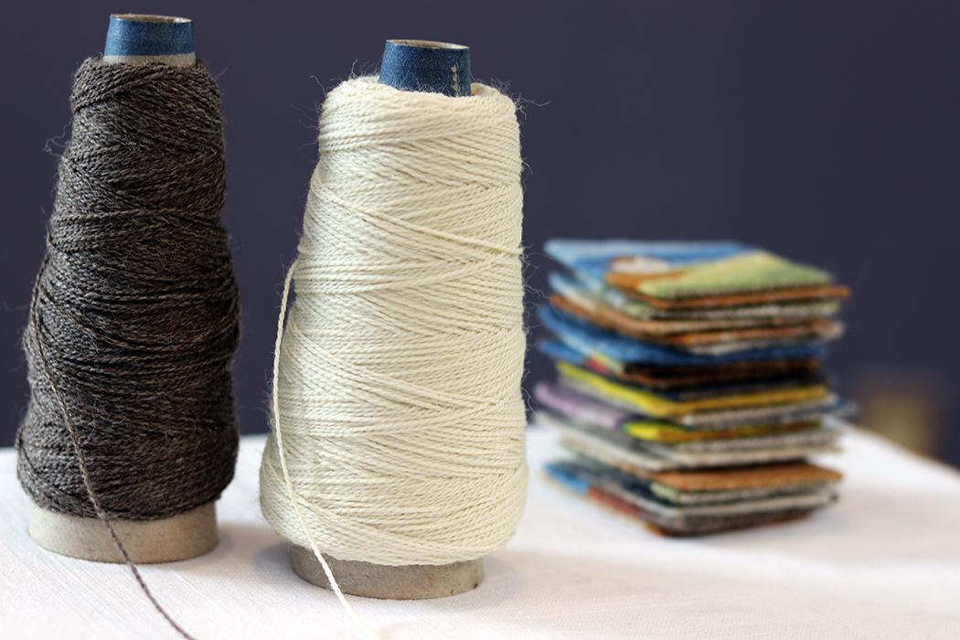 Wool warp from Halcyon Yarn
