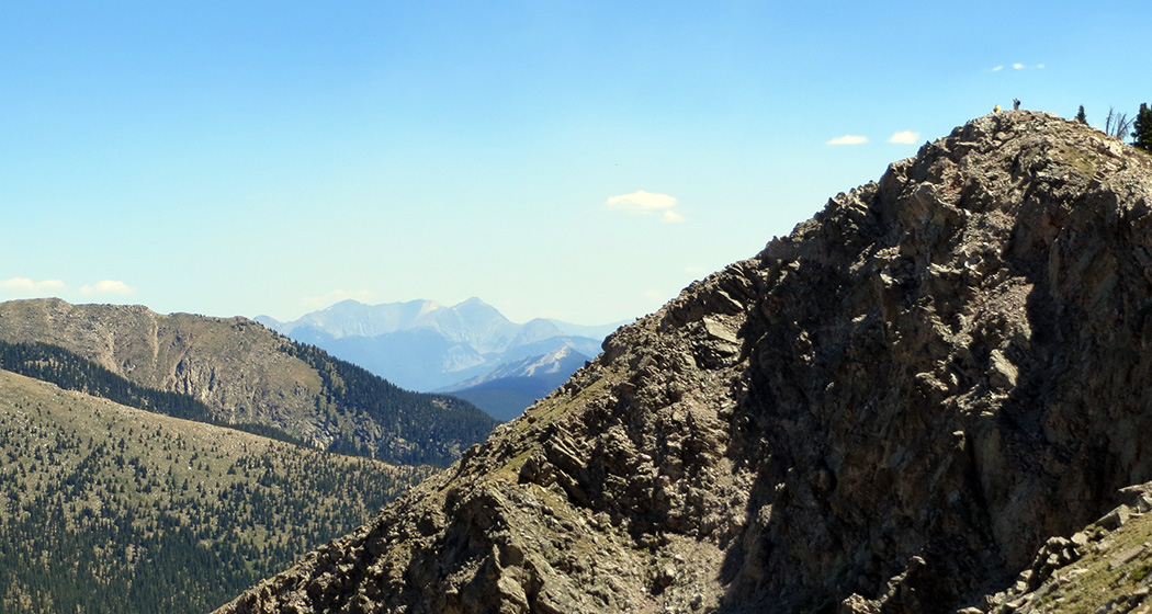 New Mexico has some big mountains.Go hiking!