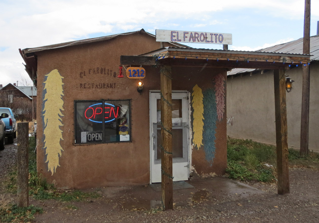 El Farolito.Best Mexican food you'll get anywhere. Go to El Rito to eat here.